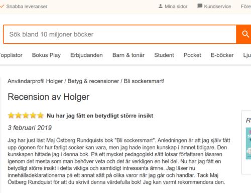 Fem stjärnor från Holger!